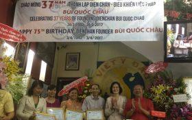 Kỷ niệm 37 năm Diện Chẩn và mừng sinh nhật GS.TSKH Bùi Quốc Châu