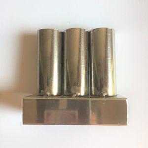 Khay tắt ngải 3 ống inox