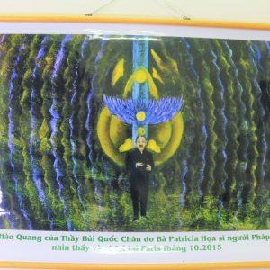 Tranh Hào quang GS.TSKH Bùi Quốc Châu – Gia tăng năng lượng